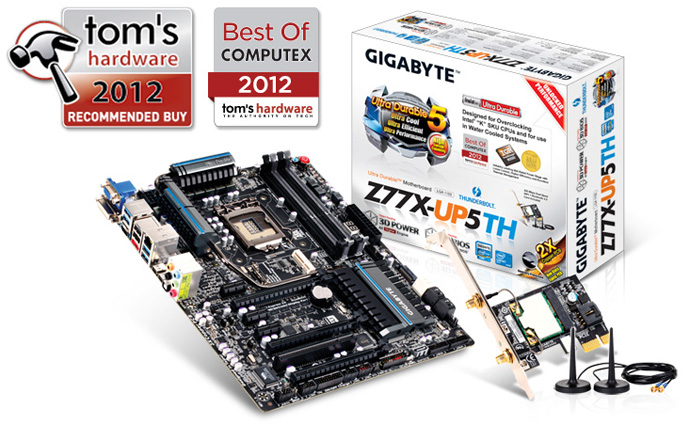 Review Placa Base Gigabyte Z77X-UP5TH 1
