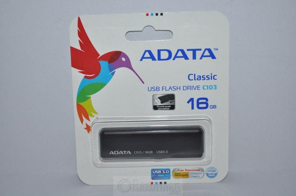 Review memoria USB 3.0 ADATA C103 16 Gb 2
