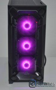 Review Antec DF600 FLUX 4