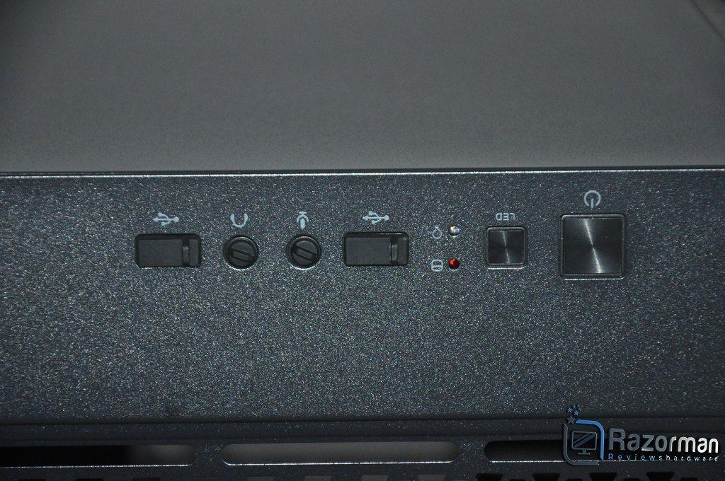 Review Antec DF600 FLUX 7