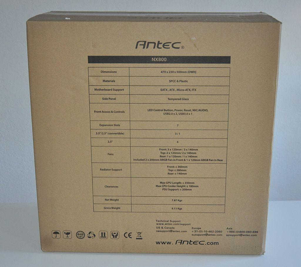 Review Antec NX800 4