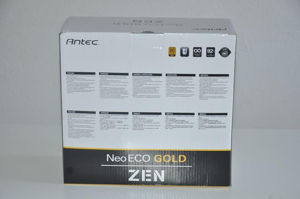 Review Antec Neo Eco Zen 700W 2