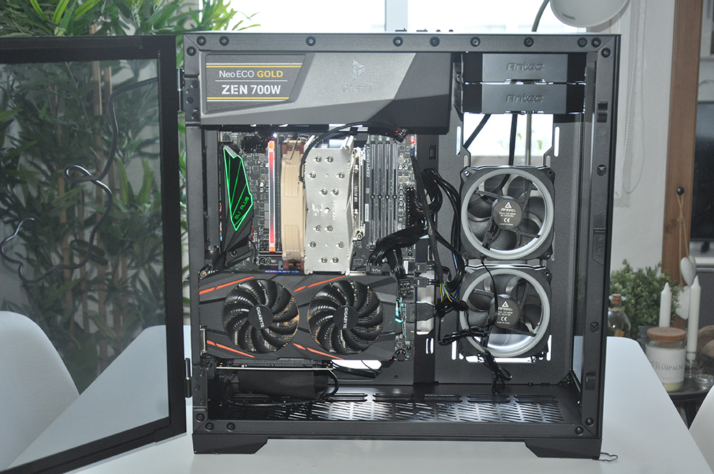Photo of Review Antec P120 Crystal