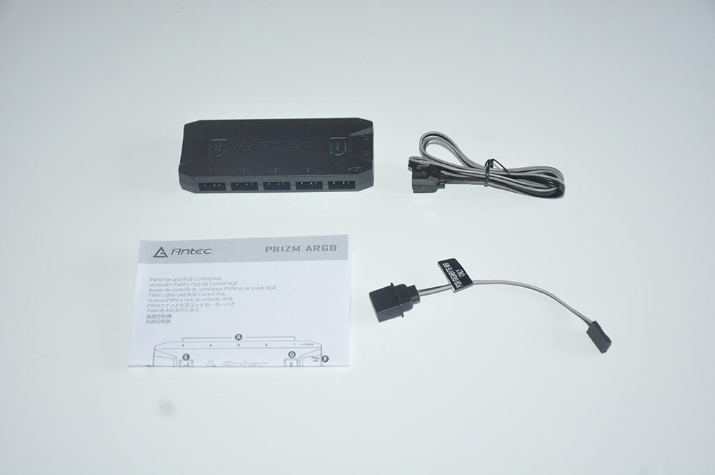 Review Antec PRIZM 120 ARGB 6