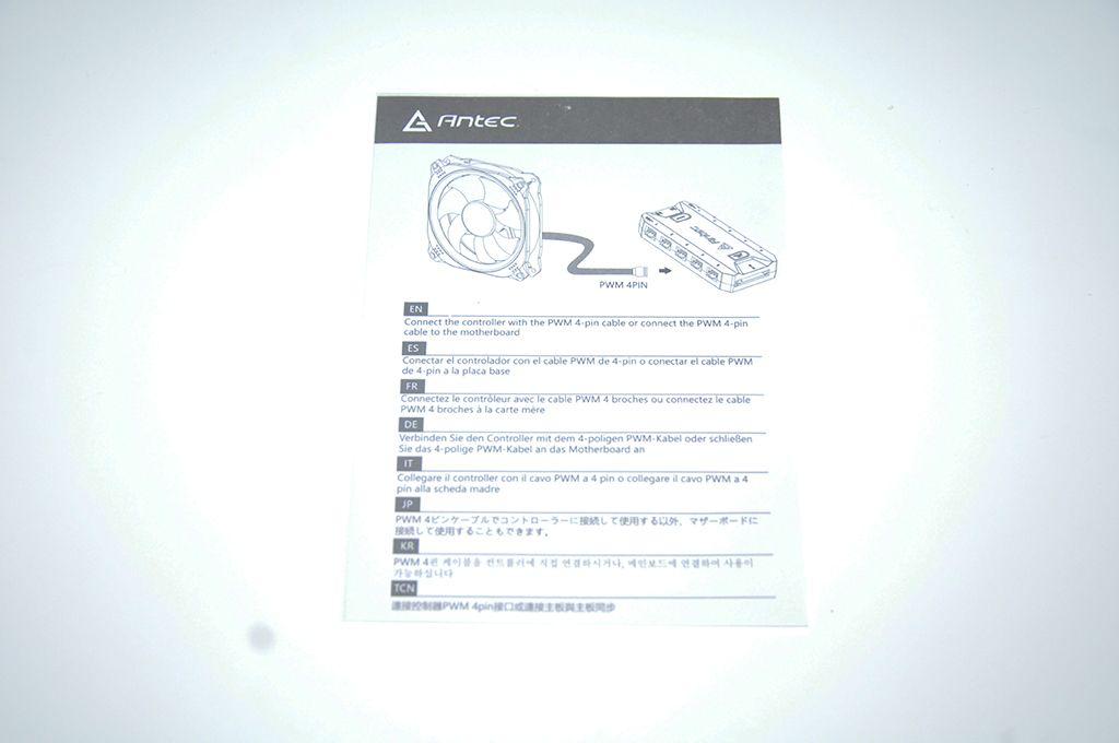 Review Antec PRIZM 120 ARGB 7