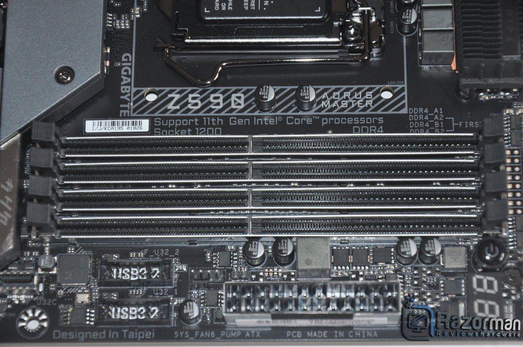 Review Aorus Z590 Master 10