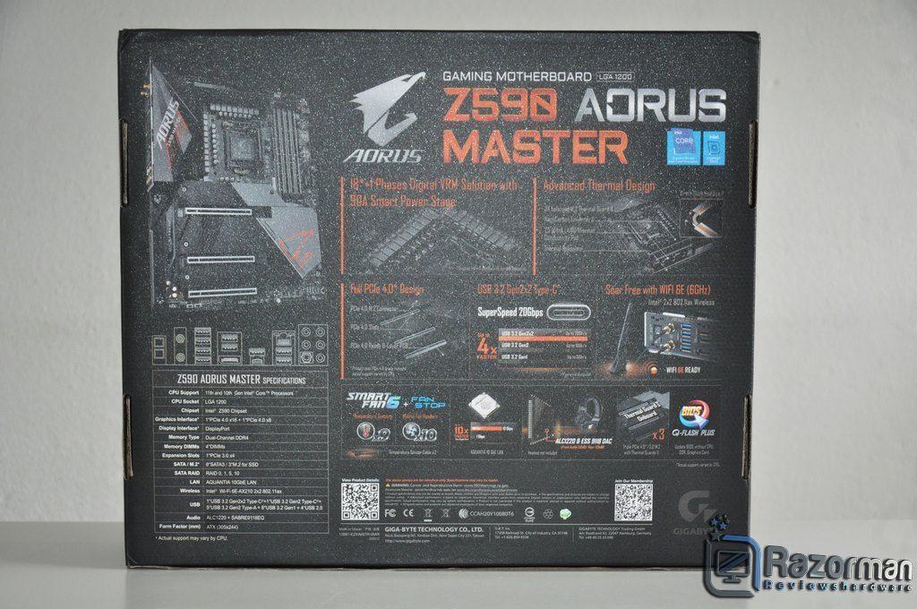 Review Aorus Z590 Master 3