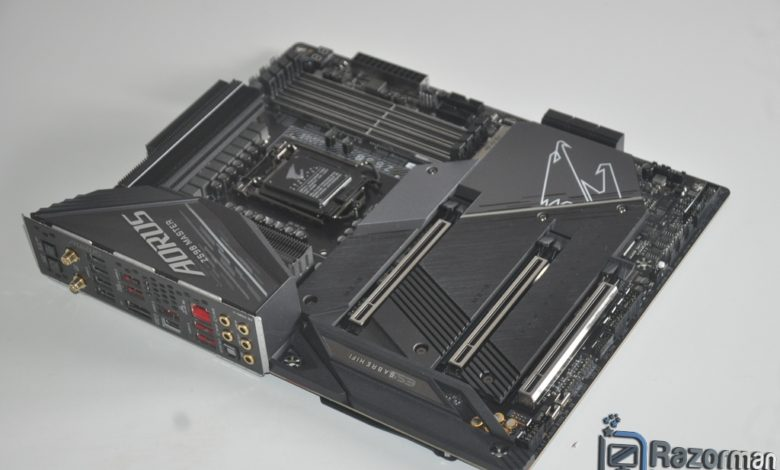 Review Aorus Z590 Master 240
