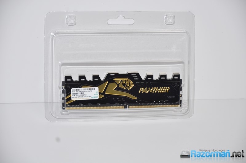 Review Apacer Panther DDR4 2400 Mhz 5