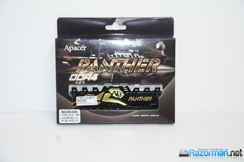 Review Apacer Panther DDR4 2400 Mhz 3