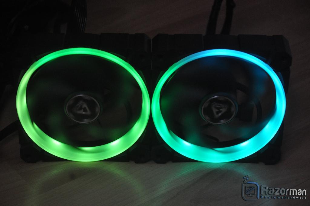 Review Arctic Bionix P120 A-RGB 20