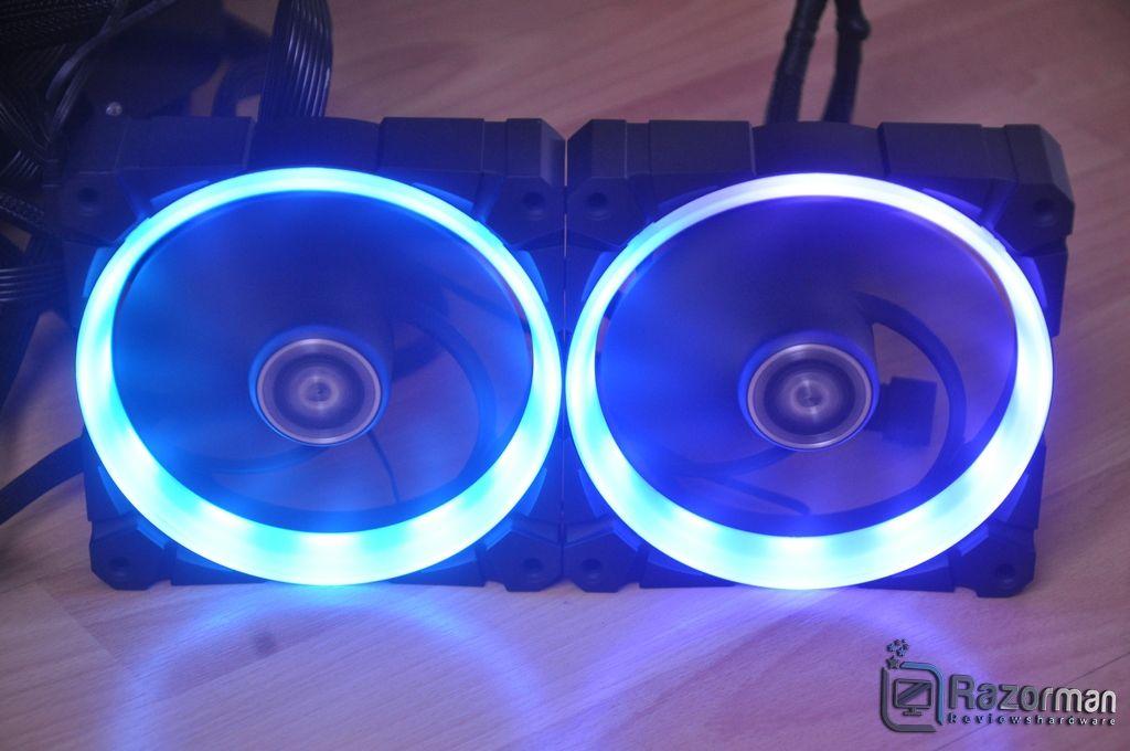Review Arctic Bionix P120 A-RGB 16