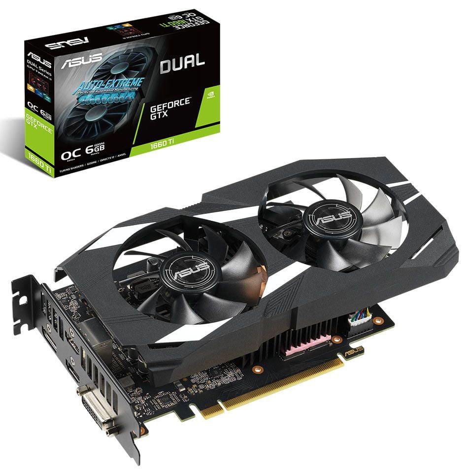 Asus desvela sus nuevas Geforce GTX 1660 Ti Turing 1