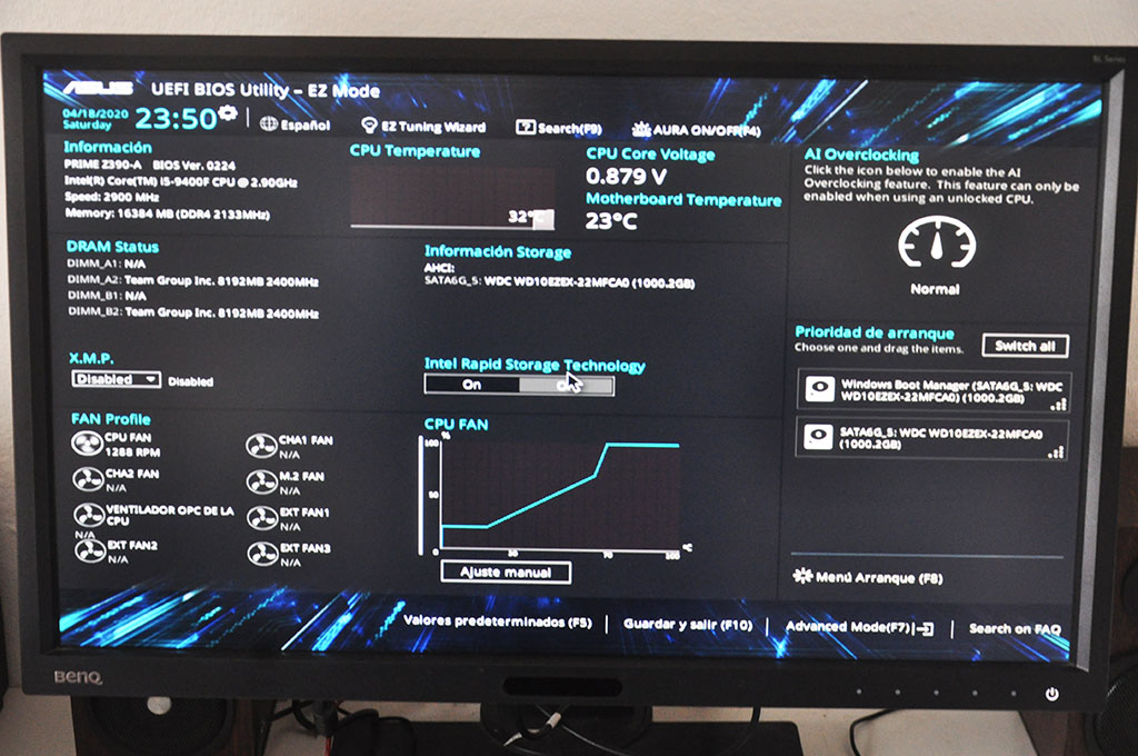 Review Asus Prime Z390-A 1
