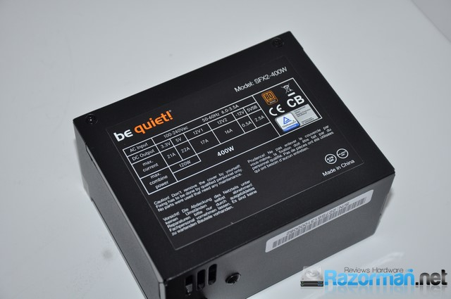 Be Quiet SFX Power 2 400W (12)