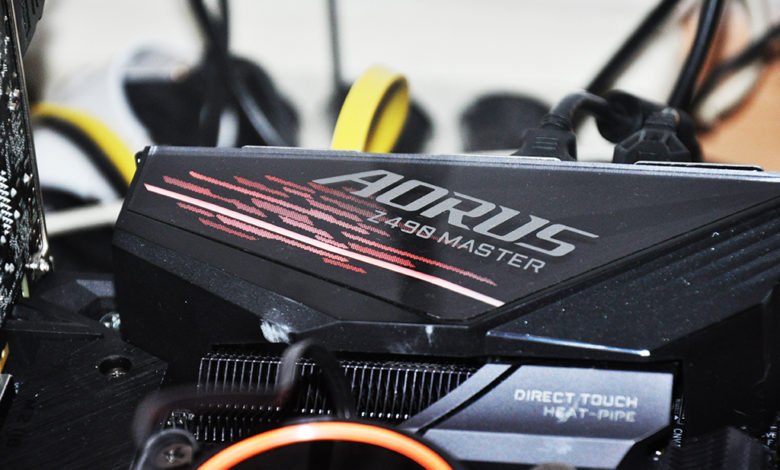 Review Aorus Z490 Master 233
