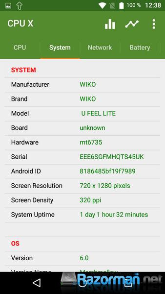 Review Wiko Ufeel Lite 18