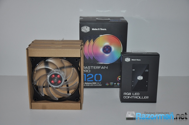 Review Cooler Master Master Fan PRO 120 RGB