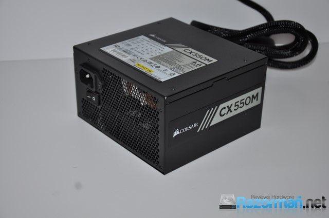 Photo of Review Corsair CX550M