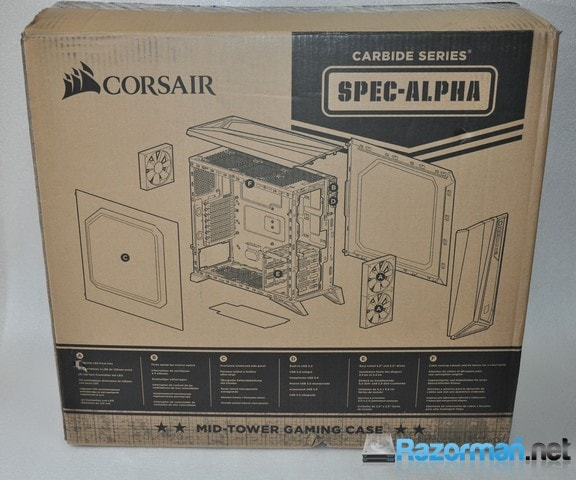 corsair carbide spec alpha manual