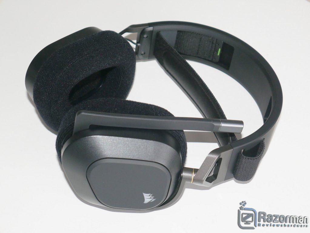 Review Corsair HS80 RGB Wireless 8