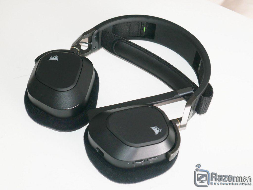 Review Corsair HS80 RGB Wireless 9