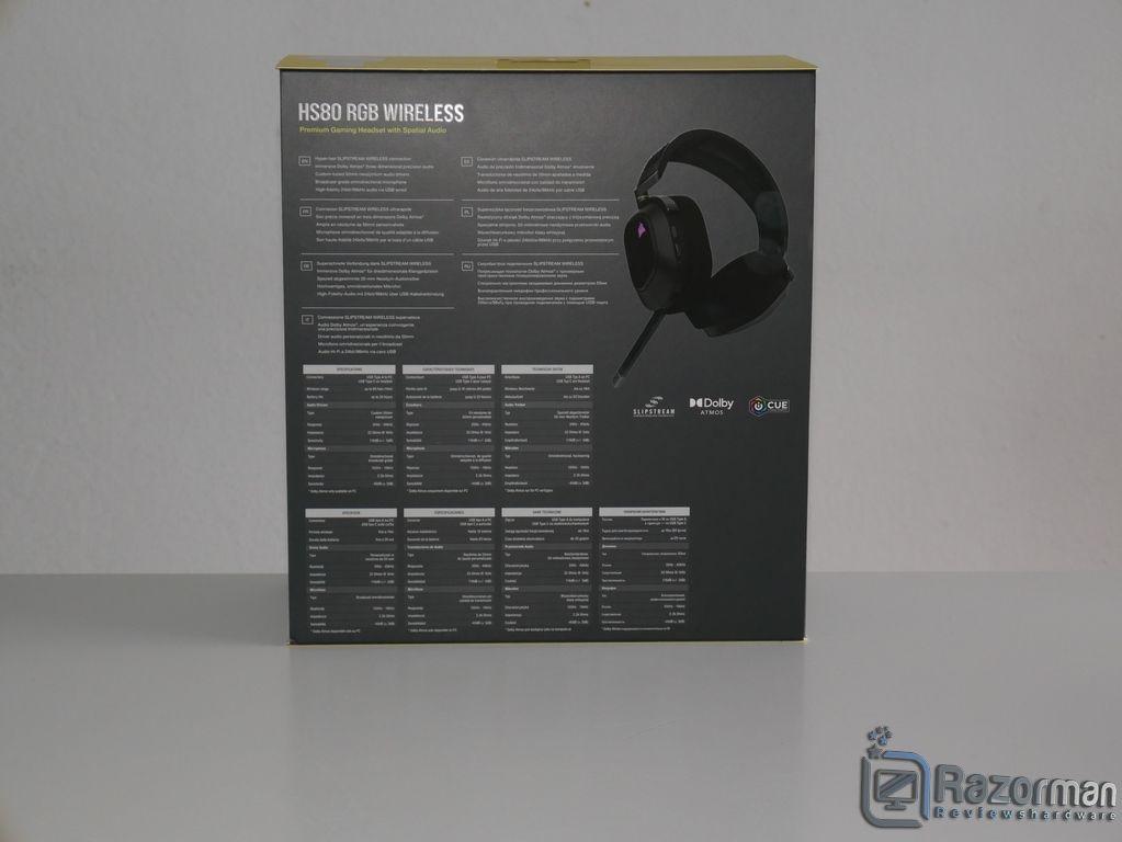 Review Corsair HS80 RGB Wireless 3