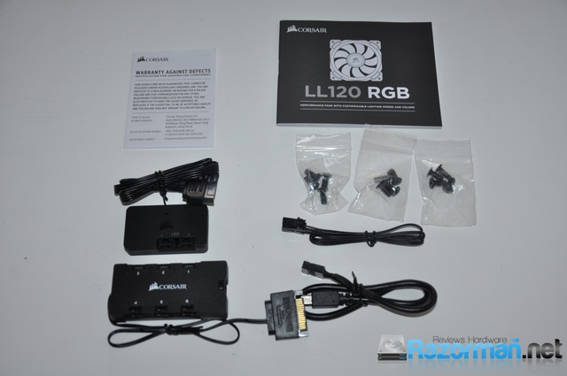 Review Corsair LL120 RGB 5