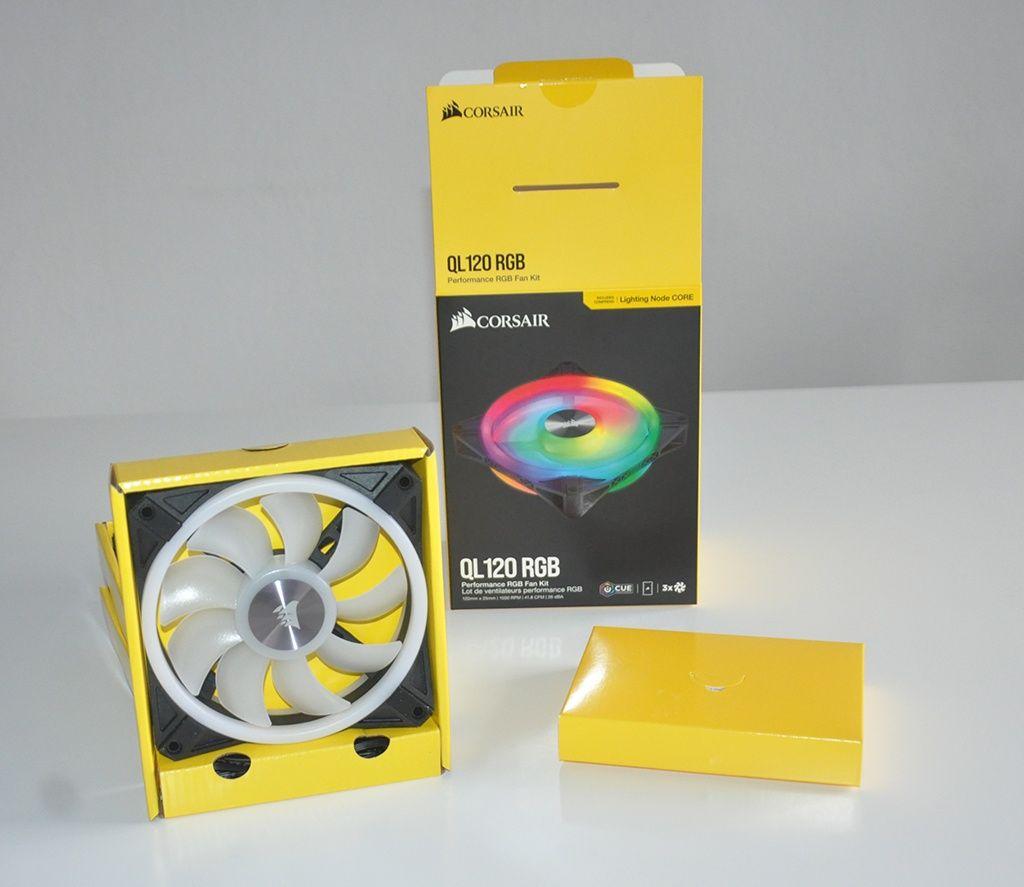 Review Corsair QL120 RGB 3