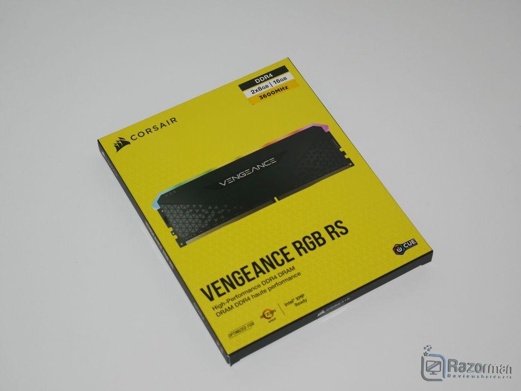 Review Corsair Vengeance RGB RS 2