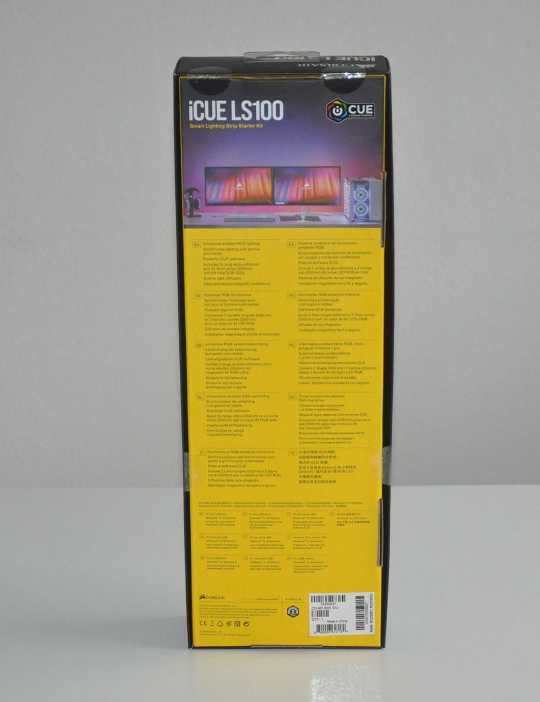 Review Corsair iCue LS100 4