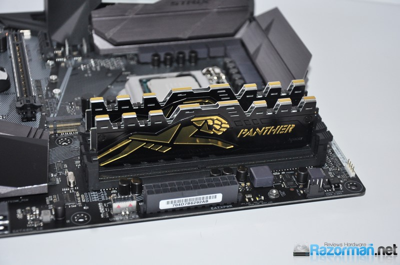 Review Apacer Panther DDR4 2400 Mhz 9