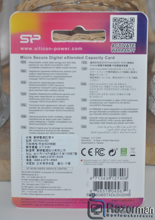 Review Silicon Power Superior Pro microSDXC_Colorful 256 GB 3