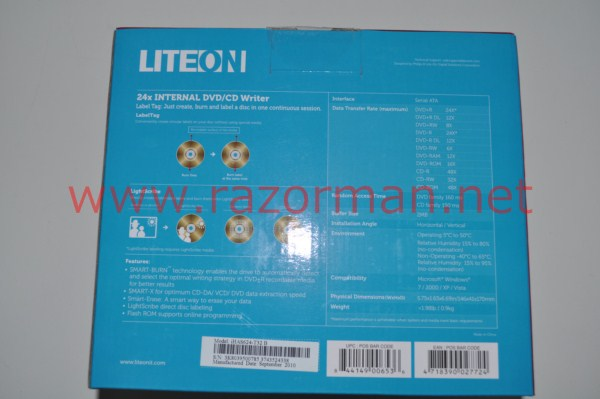 Review Grabadora DVD LiteON iHAS624 3