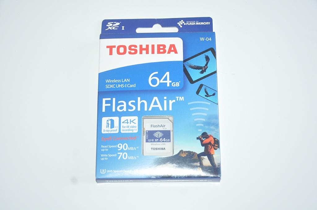 Review Toshiba FlashAir W-04 2