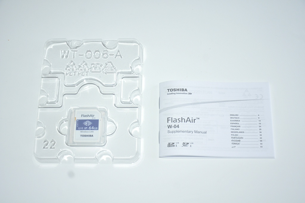 Review Toshiba FlashAir W-04 4