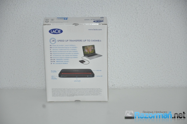 Review LaCie Portable SSD 500GB 3