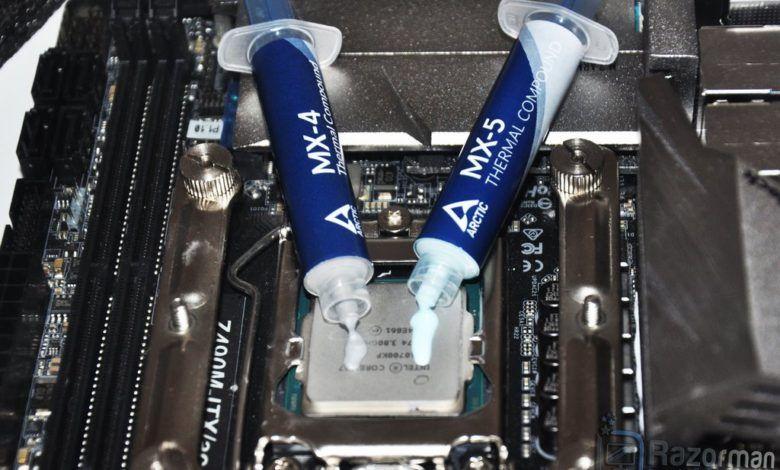 Review compuesto térmico Arctic MX-5 1