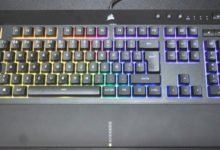 Review Corsair K55 RGB PRO XT 12
