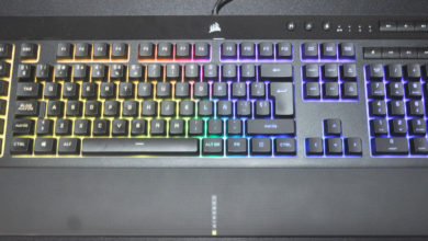 Review Corsair K55 RGB PRO XT 49