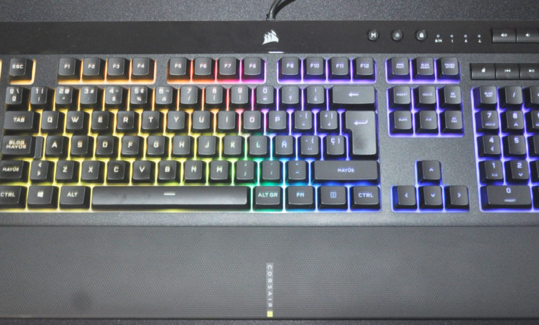 Review Corsair K55 RGB PRO XT 1