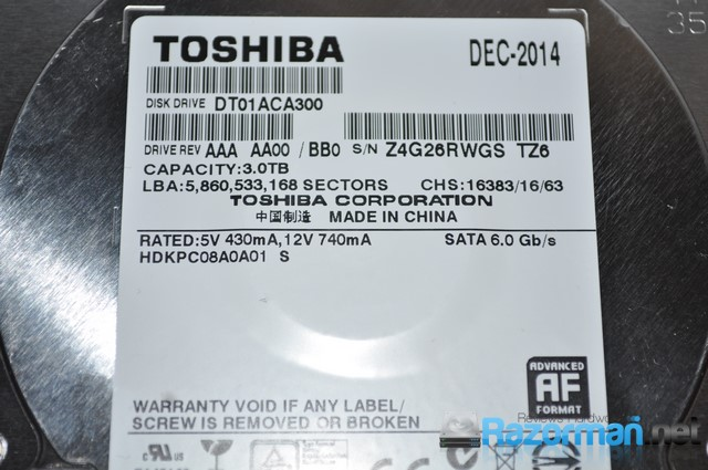 Photo of Review Toshiba DT01ACA300 3 Tb