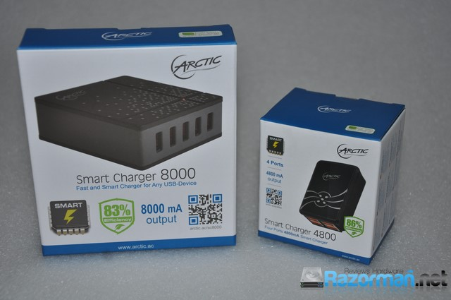Photo of Review Arctic Smart Charger 4800 y Smart Charger 8000