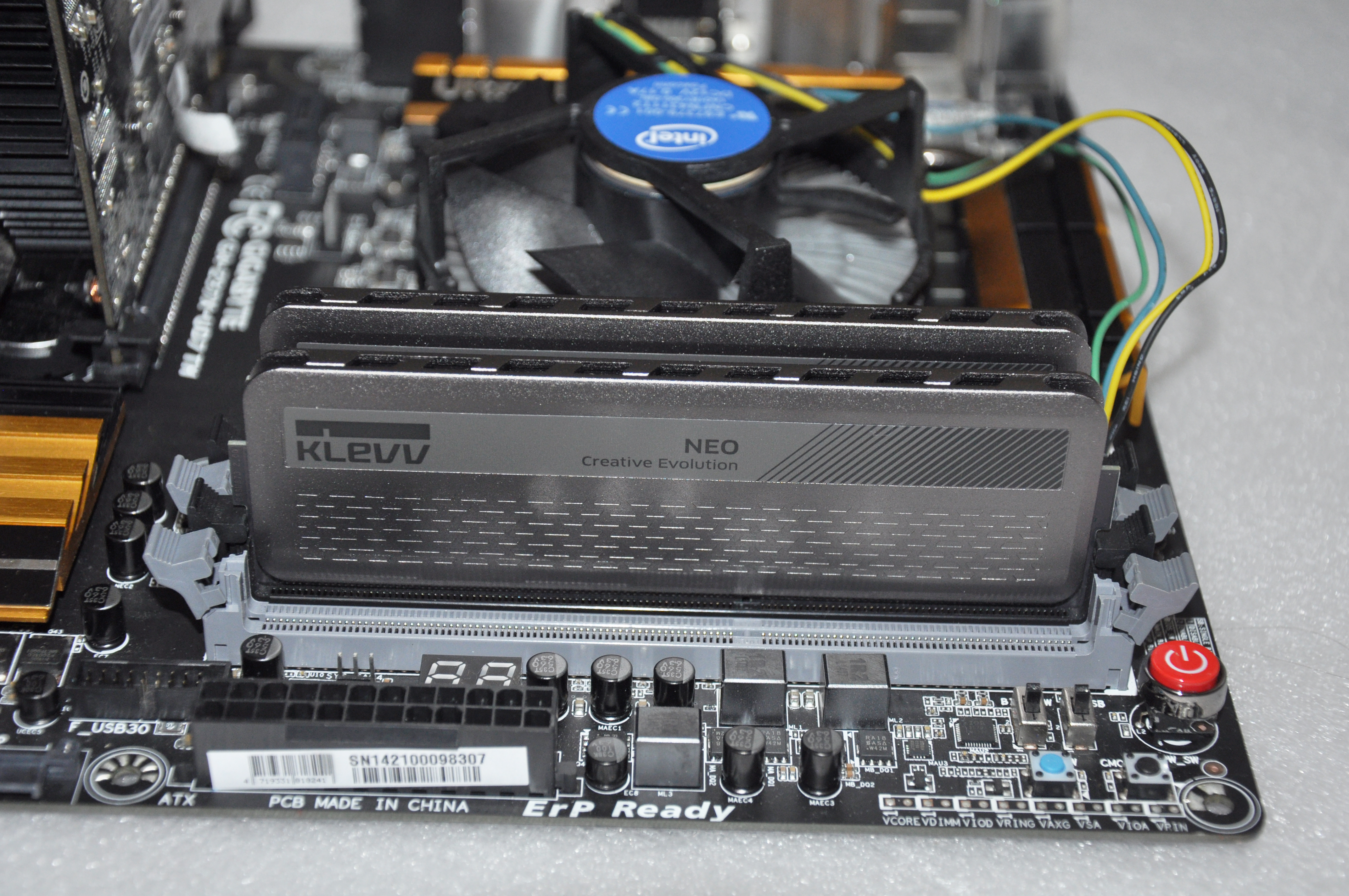 Review KLEVV Neo 2X4 GB DDR3 1866 Mhz 410