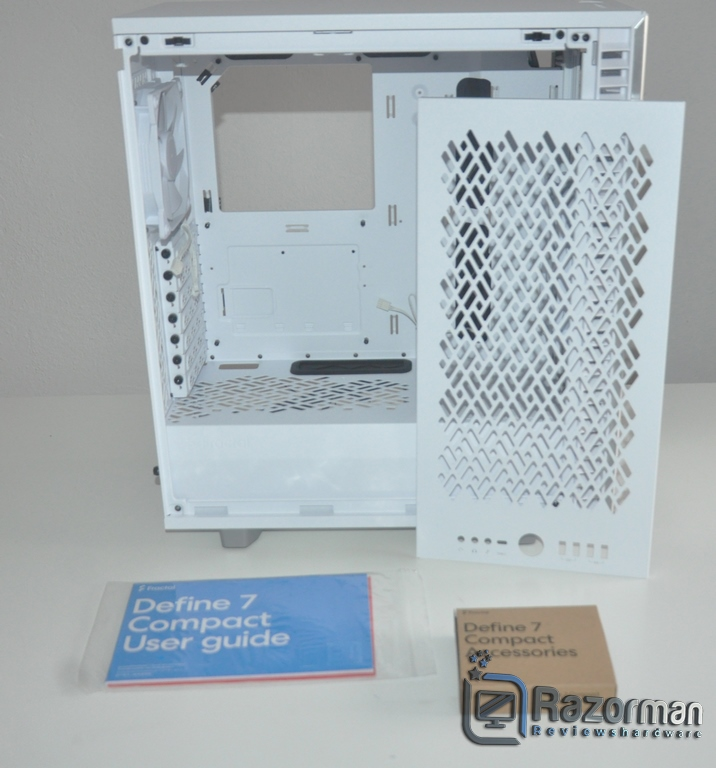 Review Fractal Define 7 Compact Light Tempered Glass 7