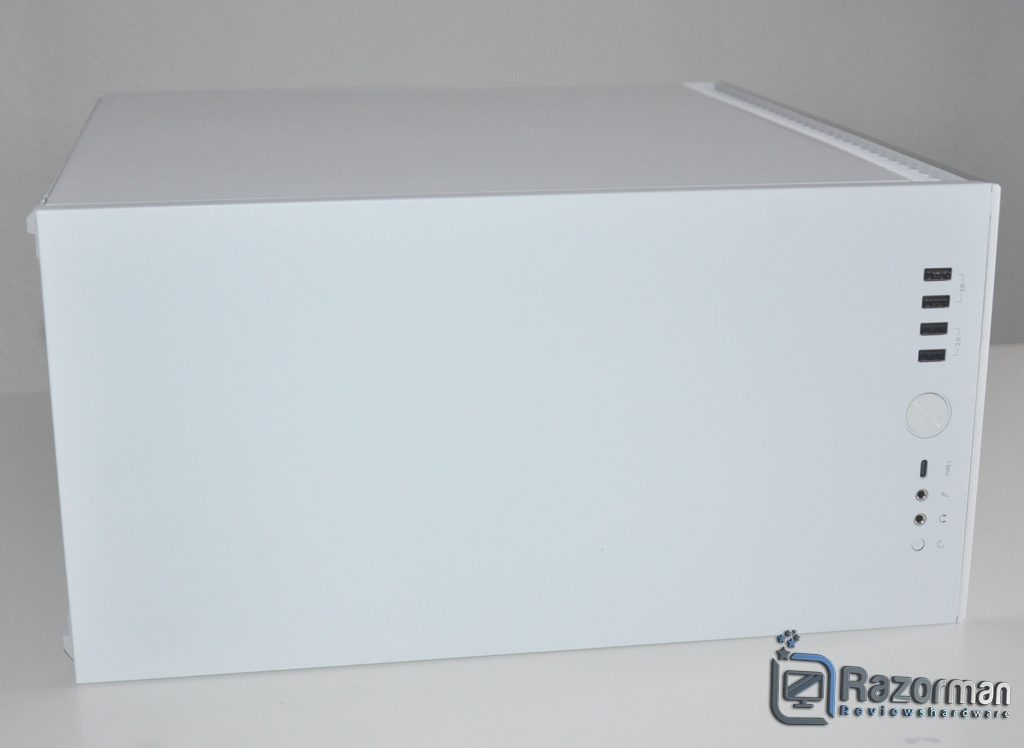 Review Fractal Define 7 Compact Light Tempered Glass 13