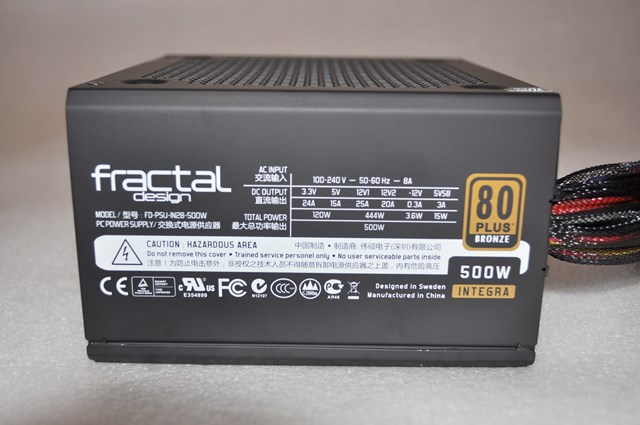 Fractal Design Integra R2 500W 80Plus Bronze (14)