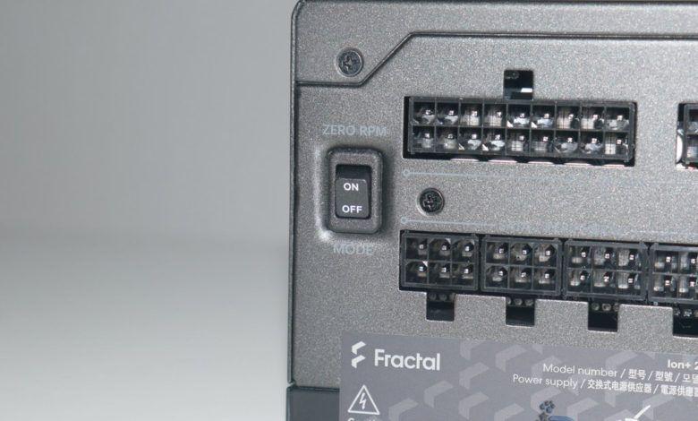 Review Fractal Ion+ 2 Platinum 660W 103
