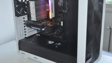 Review Fractal  Meshify 2 White Tempered Glass 20