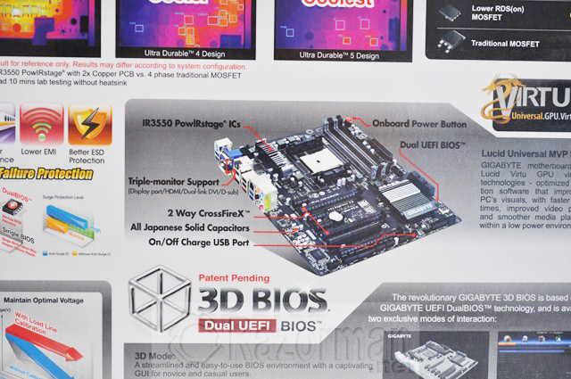 Review Gigabyte GA-F2A85X-UP4 y APU AMD A10 5800K 22